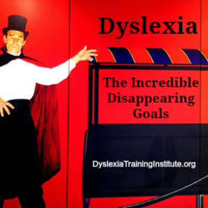 Dyslexia - The Incredible Disappearing Goals     (Photo by Wonderlane/flickr)