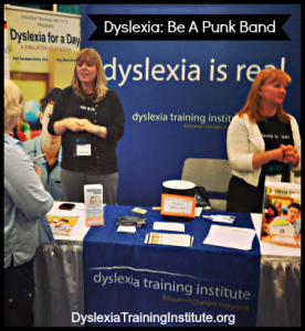 Dyslexia Be A Punk Band - Dyslexia Training Institute