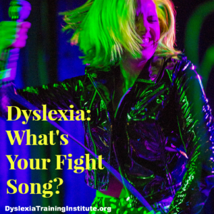 Dyslexia:  What's Your Fight Song?  (Photo by Nan Palmero/Flickr)