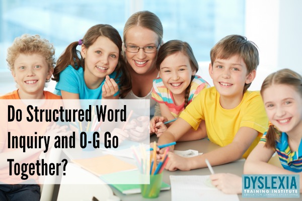Do Structured Word Inquiry and Orton-Gillingham Go Together